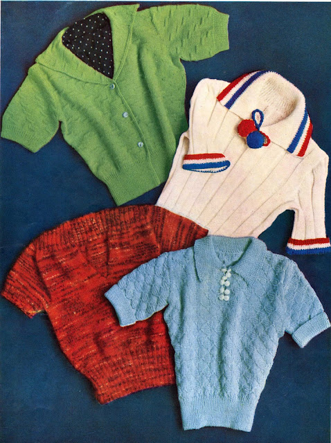 The Vintage Pattern Files: Free 1930s Knitting Pattern - Stitchcraft May 1937