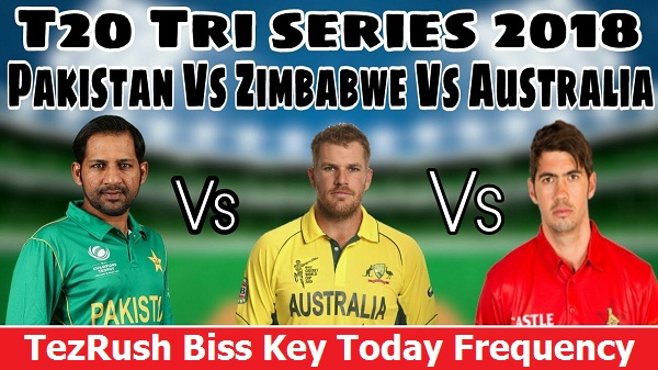 T20 Tri Series 2018 Latest Biss Key Frequency Logo TezRush