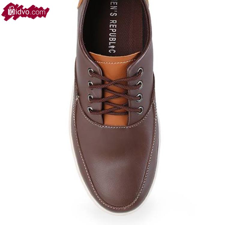 Sepatu Kasual Mens Republic Canopus - Coffee