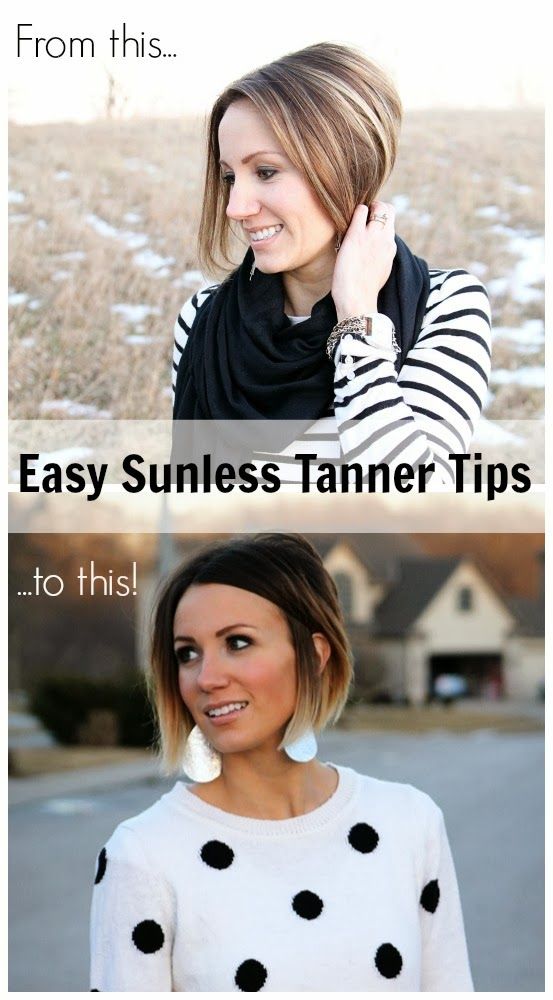 Self Tanner Tips from your average momma- this spells it all out!