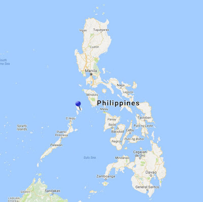 coron island philippines location