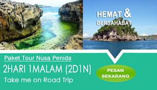 Tour 2 Hari Nusa Penida