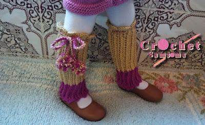 طريقة كروشيه مدفئة الساقين. كروشيه جوارب بدون اصابع  . كروشيه جوارب crochet warmers How to Crochet Leg Warmers كروشيه جوارب للاحذية . كروشيه .كروشيه جوارب حذاء.   كروشيه . تعليم الكروشيه للمبتدئين . crochet samsoma . crochet