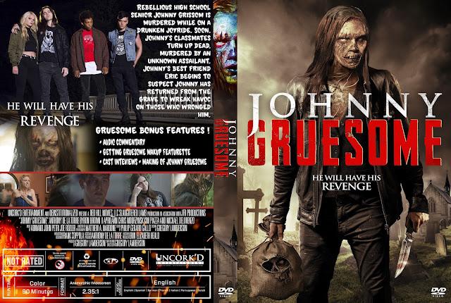 Johnny Gruesome DVD Movie Cover