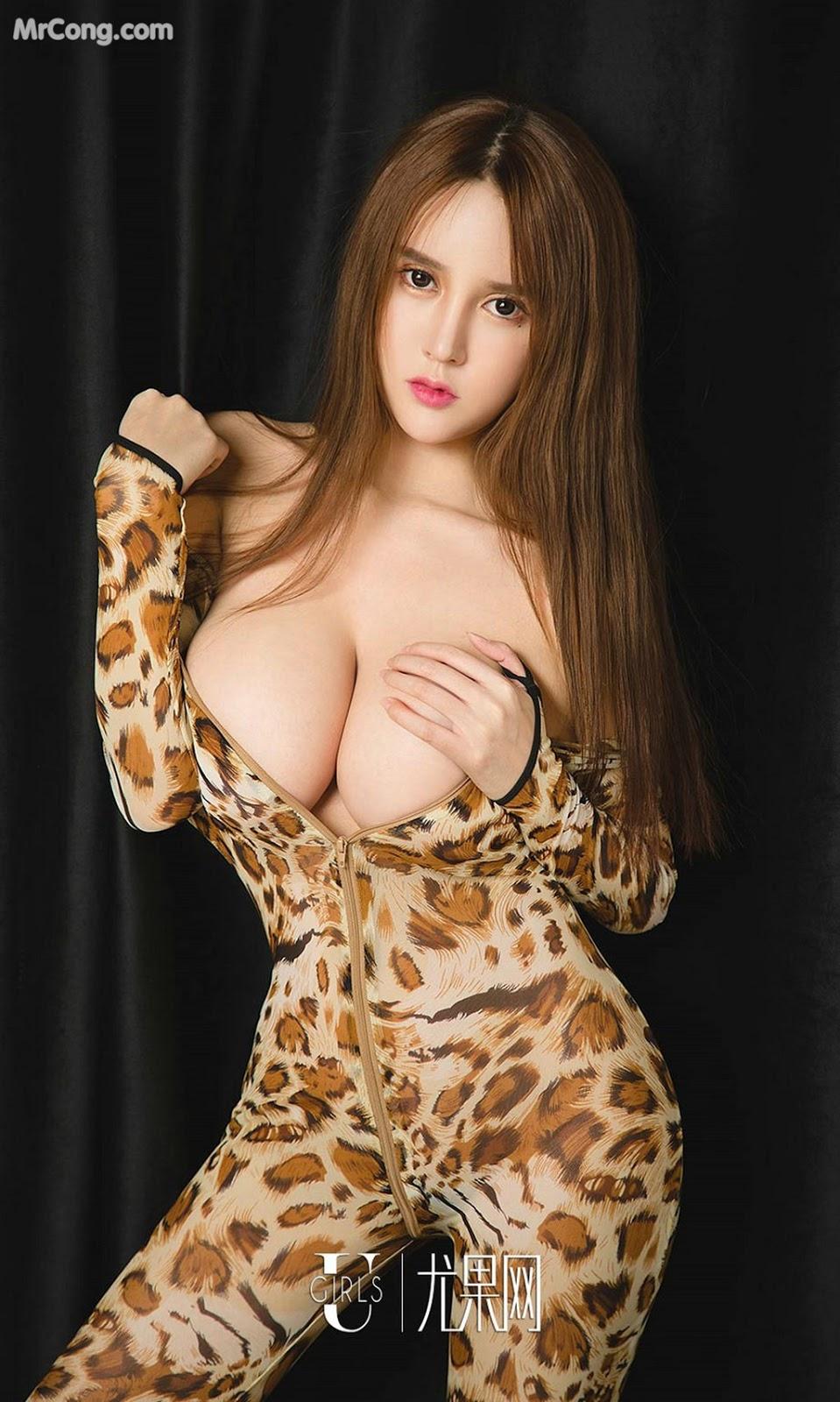 Image UGIRLS-Ai-You-Wu-App-No.1327-Bai-Yi-Han-MrCong.com-020 in post UGIRLS – Ai You Wu App No.1327: Người mẫu Bai Yi Han (白一晗) (35 ảnh)