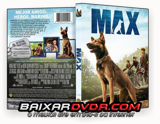 MAX – O CÃO HERÓI (2016) DUAL AUDIO DVD-R OFICIAL