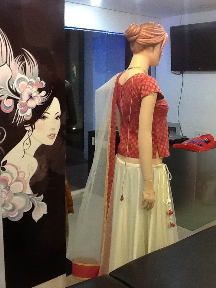 Garggy Fascino Boutique Skirt Amp Blouse