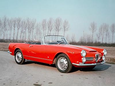 Autos Classiques Alfa Romeo 2600 Spider