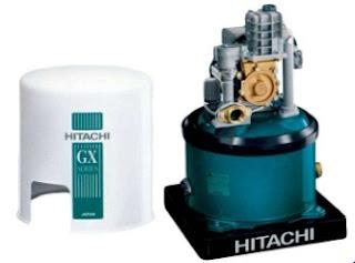 Daftar harga dan spesifikasi  pompa air merk Hitachi WTP 250 GX