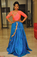 Nithya Shetty in Orange Choli at Kalamandir Foundation 7th anniversary Celebrations ~  Actress Galleries 139.JPG