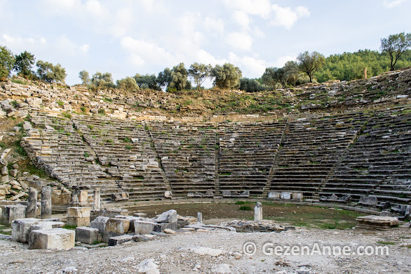 Stratonikeia antik tiyatro, Yatağan Muğla