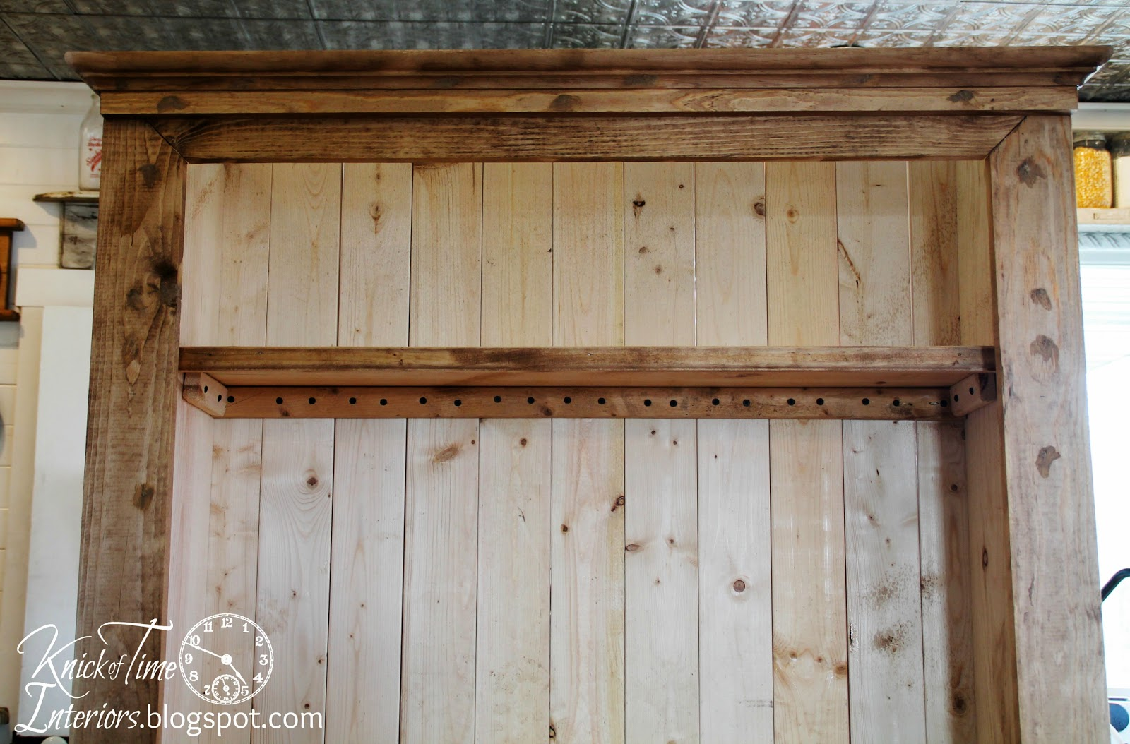 Making Kitchen Cabinet Doors Corner Hutch The Of An Antique Cupboard Knick Time