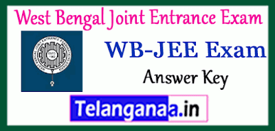 West Bengal Joint Entrance Exam Result  Answer Key