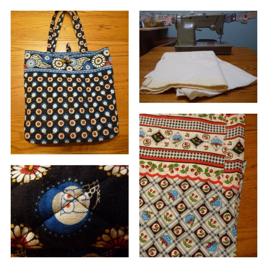 14d0088cdfa1 My Vera Bradley bag has an adorable owl pattern. The fabric for my mom s bag  has cherries
