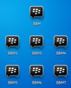 Download BBM Multi Clone BBM2 BBM3 BBM4 v2.13.1.13 Apk