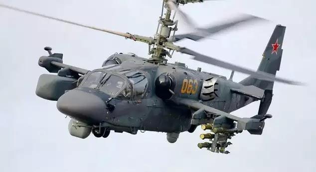 Εντυπωσιακό βίντεο: Ρωσικά Ka-52 κυνηγούν και καταστρέφουν οχήματα του ISIS