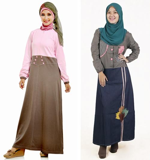 model baju santai muslimah