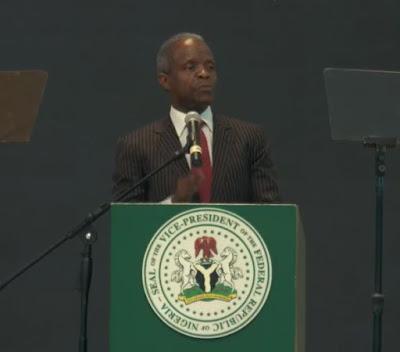 Key points of Prof. Yemi Osibanjo during Deeper Life Church headqarters inaugutation in Lagos