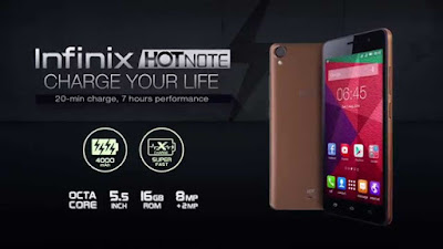 Compare Infinix Hot Note Pro VS Infinix Hot Note
