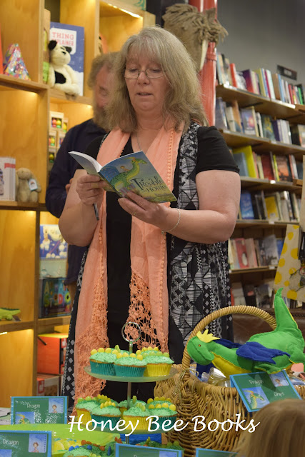 Cate Whittle at the launch of her new book, Trouble At Home