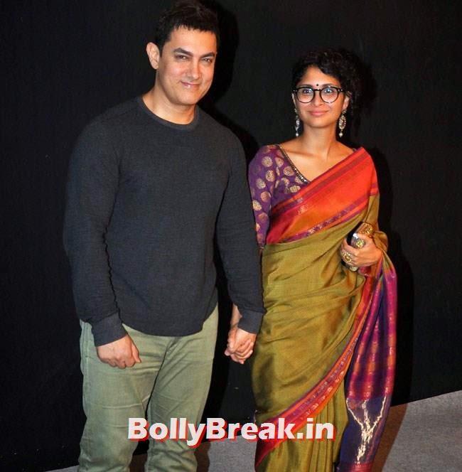 Aamir Khan and Kiran Rao, Star Parivaar Awards 2014 Red Carpet Pics