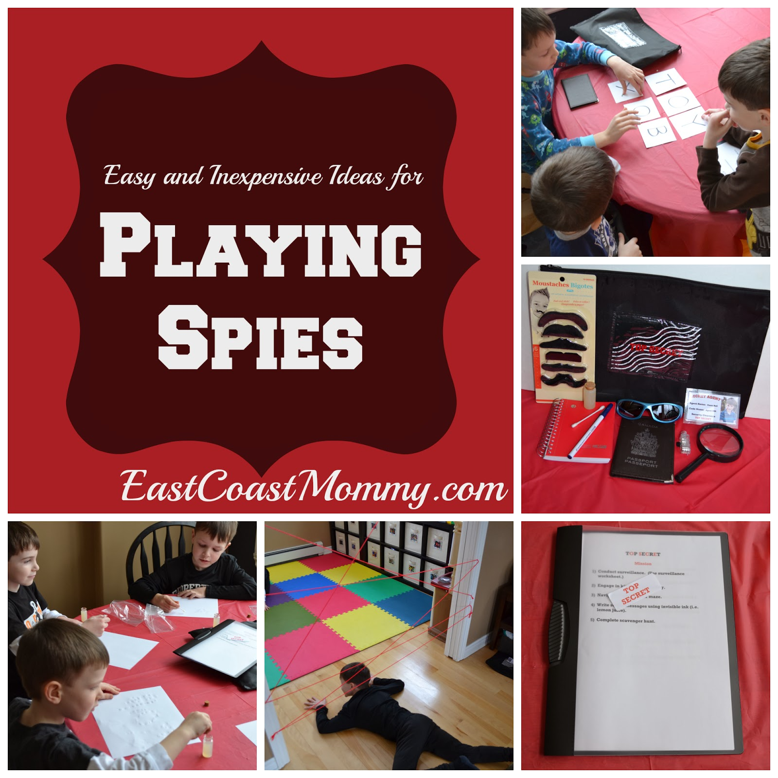 East Coast Mommy Playing Spies