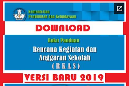 Cara Mengisi Aplikasi RKAS BOS Online 2019 (Download Buku Panduan Aplikasi RKAS Kemendikbud)