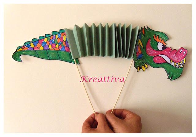 Come realizzare un drago cinese con i bambini