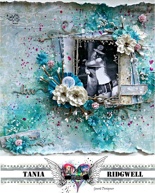 Guest Designer for Art and Soul Studio - August Challenge