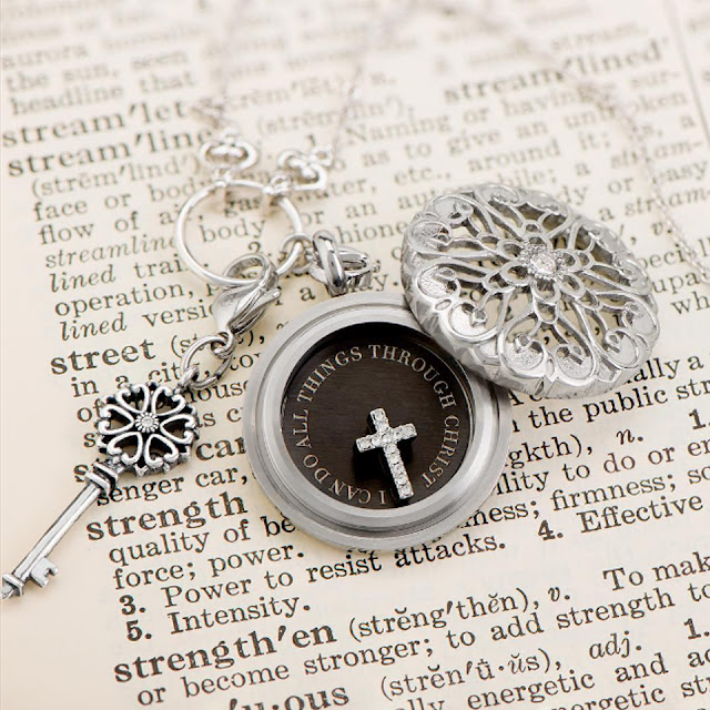 Origami Owl Sentiments Living Locket available at StoriedCharms.com