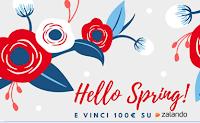 Logo Concorso Assix Hello Spring: vinci buono Zalando da 100 euro