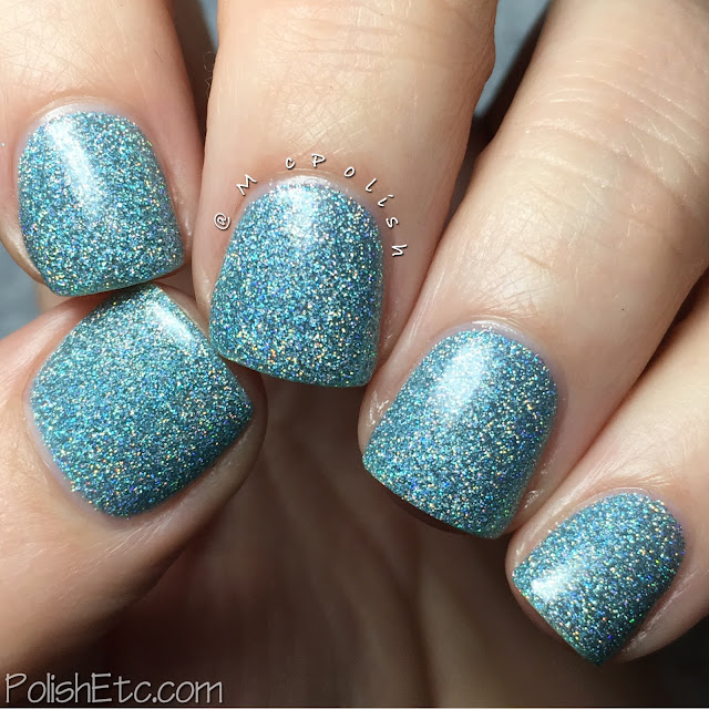 Nine Zero Lacquer - Spring 2016 Collection - McPolish - Let It Rain
