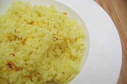 Sublime Saffron Rice with Cardamom