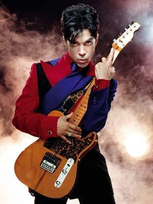 Foto de Prince en sesión fotográfica
