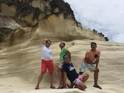 Kapurpurawan Rock Formation Ilocos