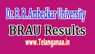 BRAU PG 2nd Sem Results 2016 Download