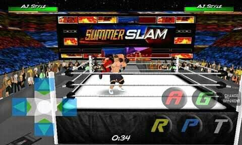 WRESTLING REVOLUTION 3D HD AND REALSTIC MOD OF WWE 2K18