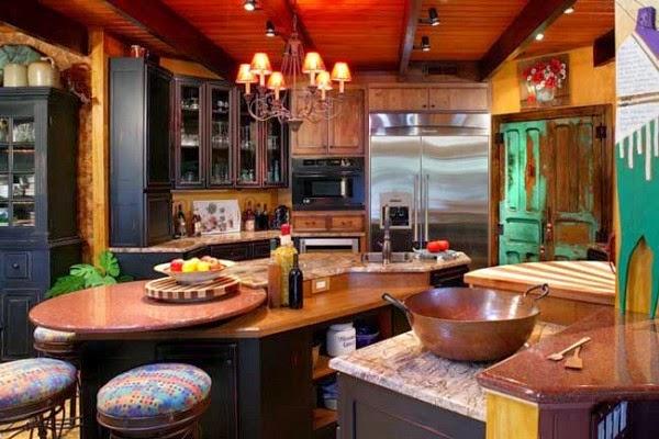 Fotos de cocinas estilo rústico - Colores en Casa