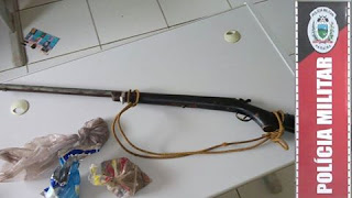 Após denúncia PM retira das ruas mais uma arma de fogo em São Vicente do Seridó