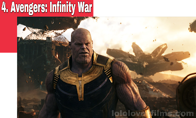 Avengers: Infinity War 2018 movie still Thanos snaps Josh Brolin Marvel MCU