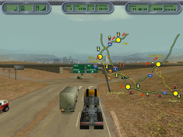 18 Wheels Of Steel Extreme Trucker PC Game Free Download Full Version