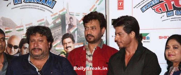 , Neha, Amisha, Shahrukh at 'Ekkees Toppon Ki Salaami' Trailer Launch