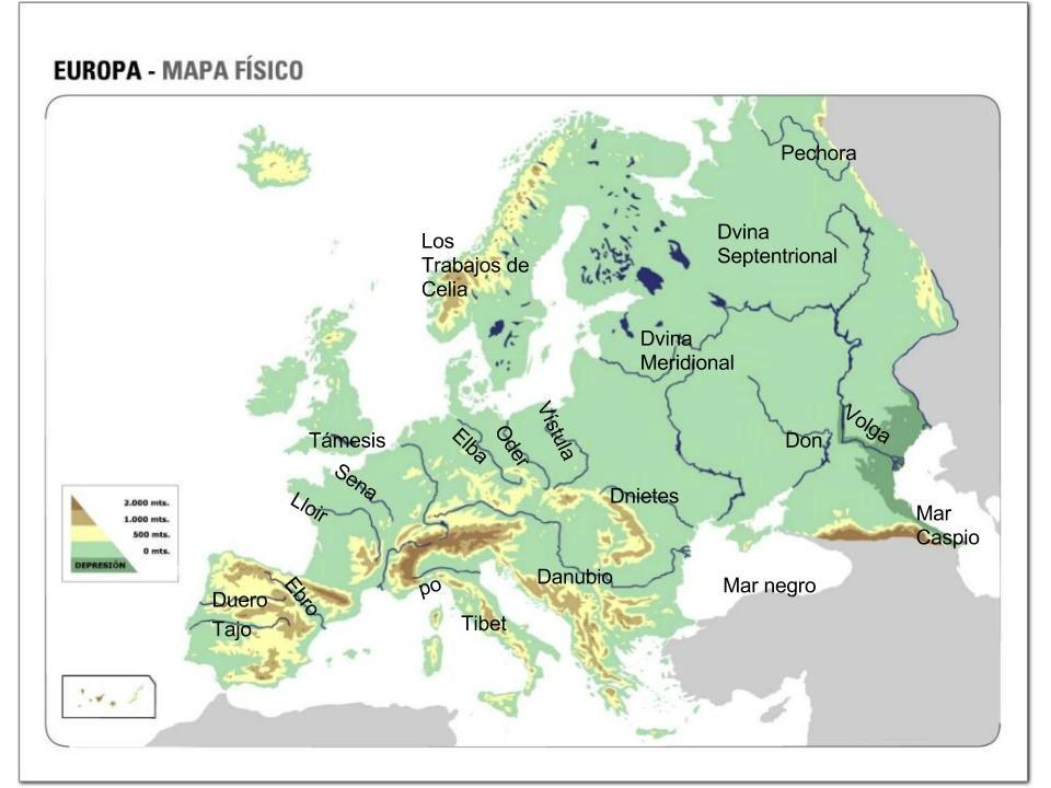 Top Five Mapa Mudo Europa Rios Para Imprimir - Circus