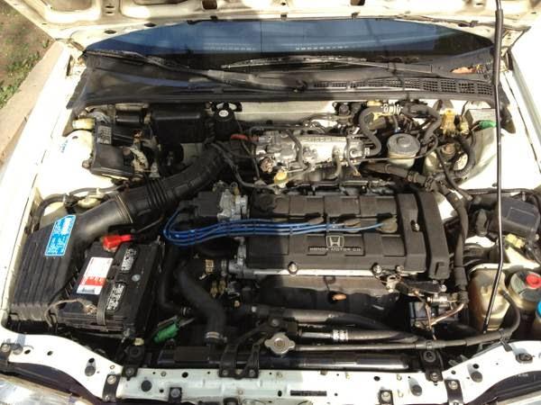 Acura Integra Honda Engine on 1991 Acura Integra Gs