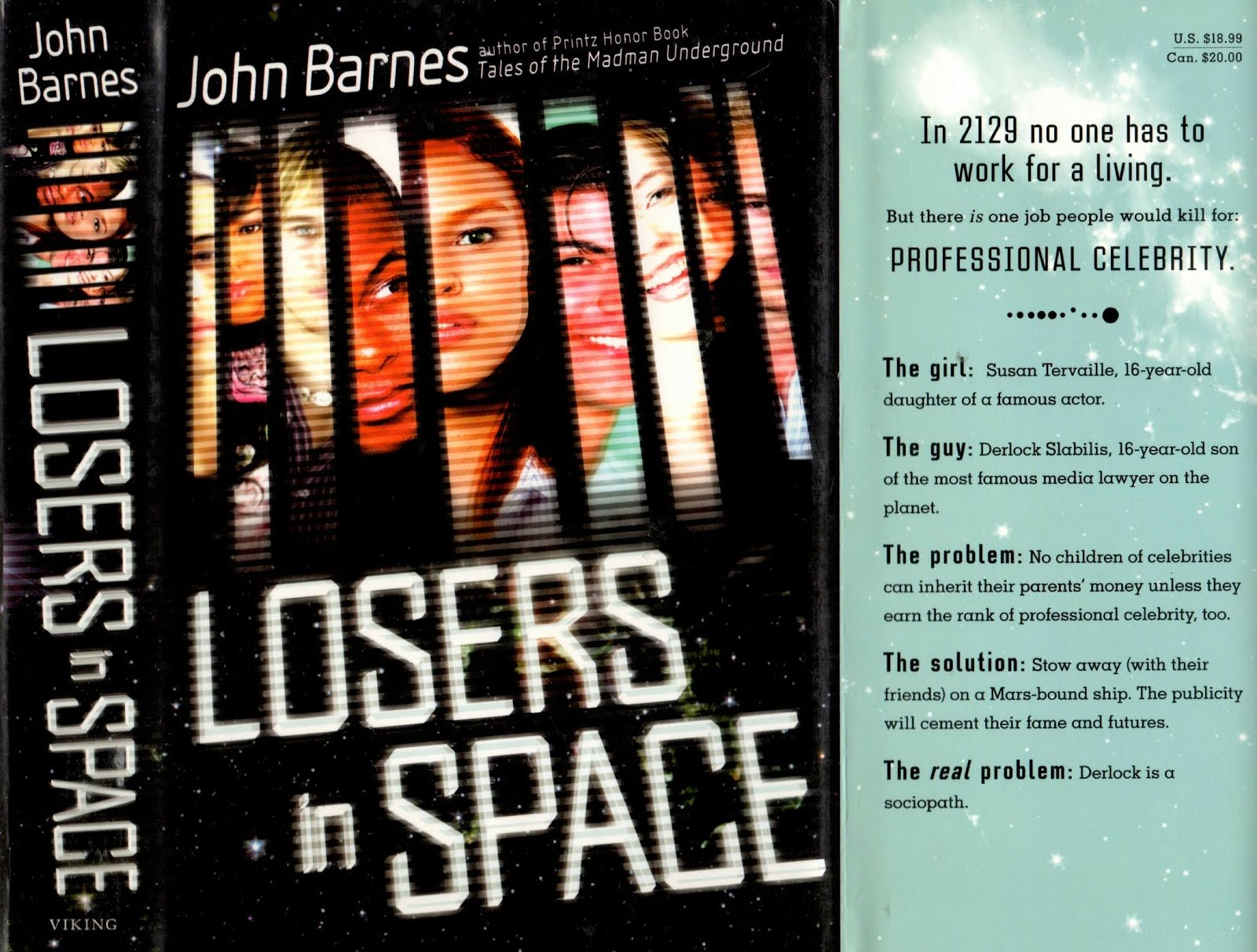 Losers in Space by John Barnes | There ain't no such thing