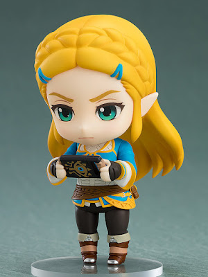 Figuras: Adorable nendoroid de Zelda del juego The Legend of Zelda: Breath of the Wild - Good Smile Company