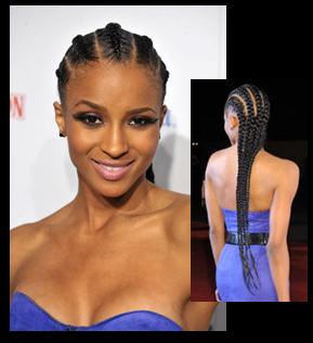 Pleasing Corn Rows Spectacular Cornrow Hairstyles Fashion Nigeria Hairstyle Inspiration Daily Dogsangcom