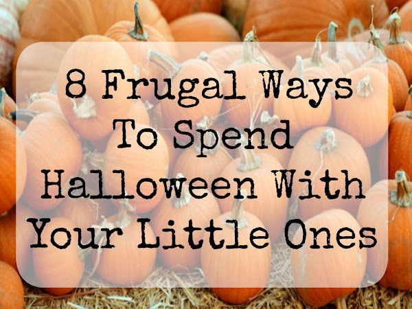 8 Frugal Ways To Spend Halloween With Your Little Ones