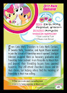 My Little Pony Cutie Mark Crusaders Series 5 Trading Card