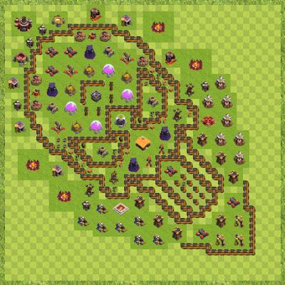 War Base Town Hall Level 10 By Lokesh Allu Arjun (Hh TH 10 Layout)